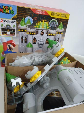 Nintendo zamek Bowser's Castle Super Mario Deluxe Bowser Jakks pacific