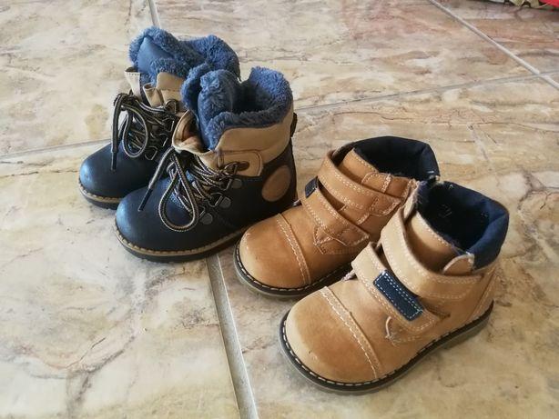 Buty chłopięce zimowe rozm. 21