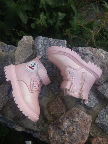 Распродажа! Новые демисезонные ботинки,хайтопы для девочки р.20-27