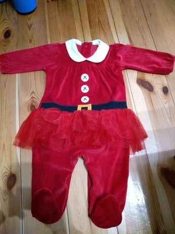 Next pajacyk śpiochy tutu strój Mikołaj święta 74