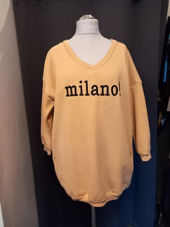 Bluza,tunika,sukienka gruba Milano