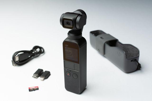 DJI Osmo Pocket [jak nowa][+Karta 32GB]