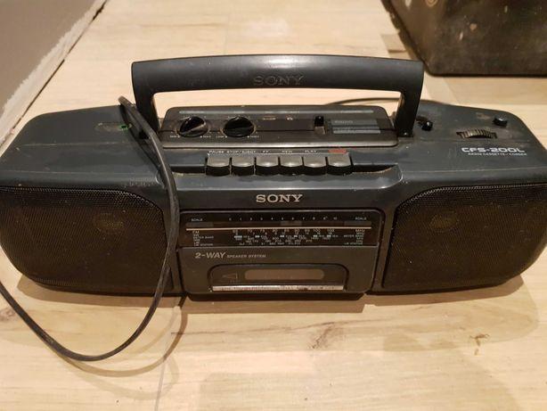 Radiomagnetofon SONY