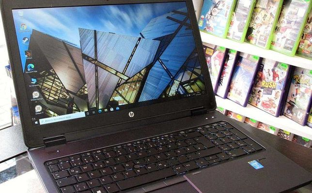 Laptop HP Zbook 15 G2 i7 16GB SSD 512GB 1000GB K610M Win10 Gwar Wroc