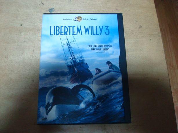dvd original libertem willy 3 snapper selo rosa rarissimo