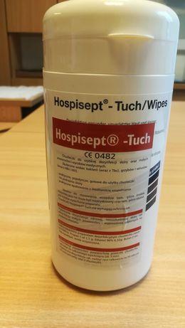 Chusteczki do szybkiej dezynfekcji skóry i powierzchni Hospiset Tuch