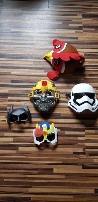 Maski Transformers , Starwars i nie tylko..