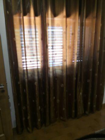 Lote várias cortinas em organza (oferta de portes na compra do lote)
