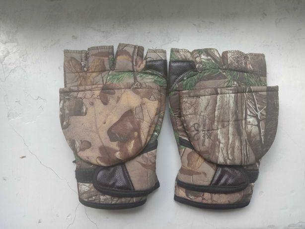 Перчатки для охоты-рыбалки.