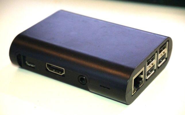 Мини-компьютер Raspberry Pi 2 Model B 1 GB + корпус + охлаждение