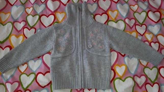 Свитер кофта свитшот светр реглан Many many ангора сірий на 3 роки
