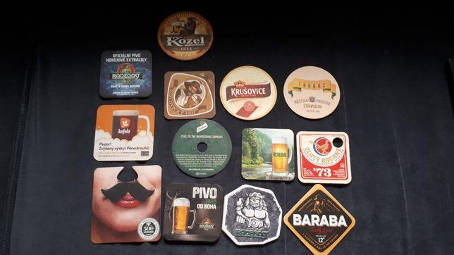 Czeskie podkładki pod piwo