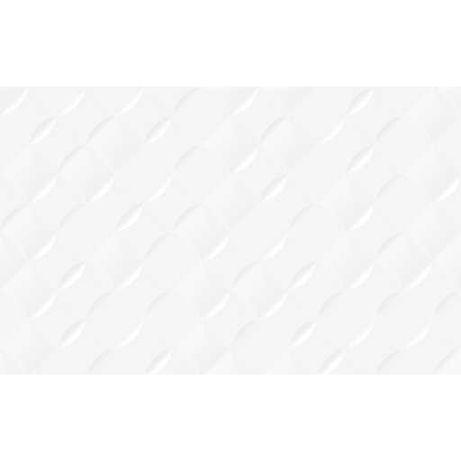 Плитка настенная Relax белая 25х40 см