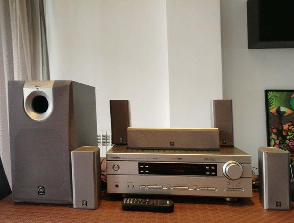 Sistema de som Yamaha - como Novo + leitor de DVD's