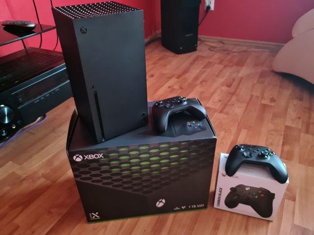 XBOX Series X + 2 pady Nowy Zestaw