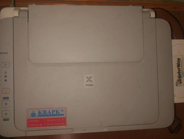 Принтер с  работающим НСПЧ