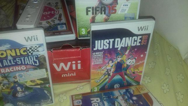 Wi mini com 7 jogos