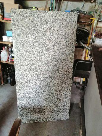Mesa Madeira Pedra Granito