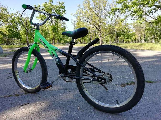 Для подростка. Велосипед. Колёса 20 дюймов. Хорошее состояние