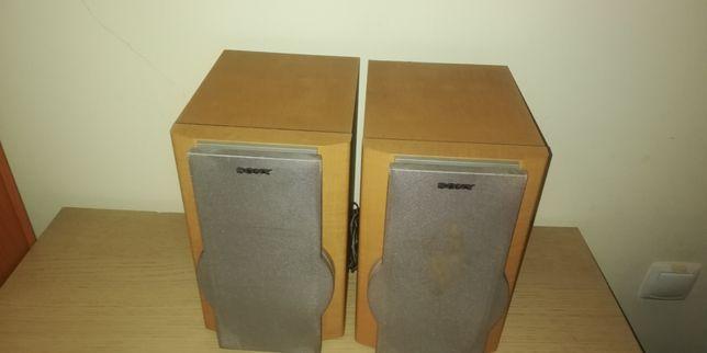 Vendo colunas de som de alta qualidade Marca SONY