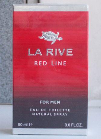Туалетная вода LA RIVE RED LINE 90мл подарок