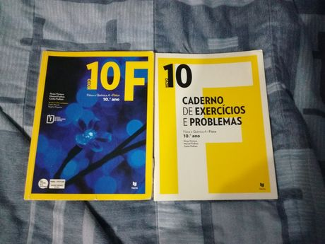 Novo 10F Física - Livro + Caderno de Exercícios e Problemas