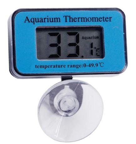 Termómetro submersível para aquário, lcd (à prova de água)