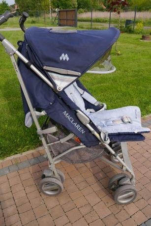 Wózek spacerowy Maclaren XLR, granatowy