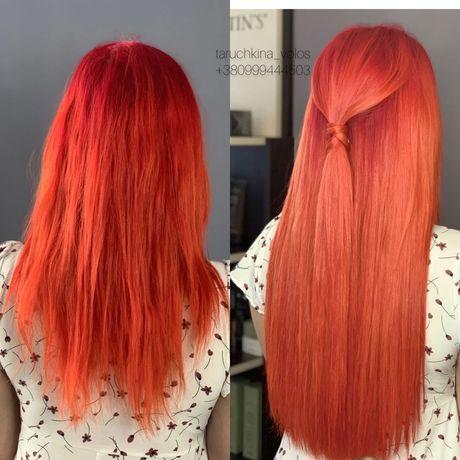 Качественное наращивание волос Софиевская борщаговка