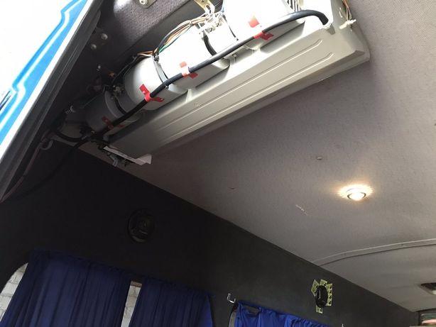Кондиционер на микроавтобус, УСТАНОВКА, штатные, накрышные, дополнит