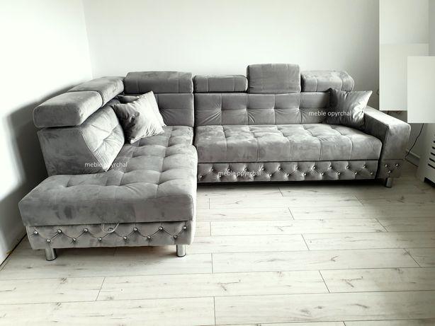 PRODUCENT!!! Nowoczesny naroznik sofa kanapa rogówka spanie NR.13