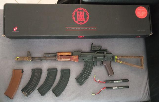 Airsoft E&L AK-74U - Full Metal - AEG