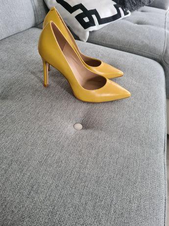 Buty szpilki moofowy kolor kazar nowe 36