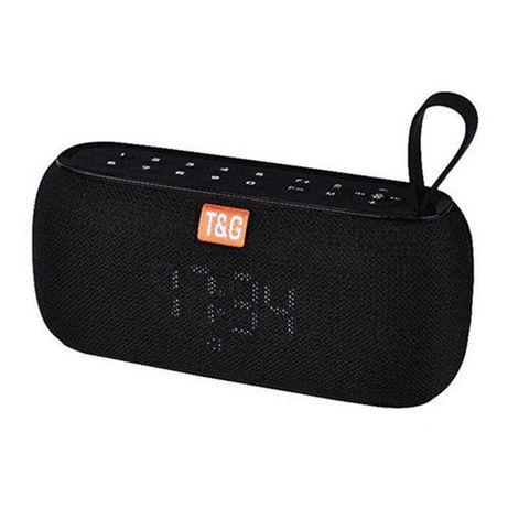 Bluetooth-колонка SPS UBL TG177, радио, PowerBank, часы, black
