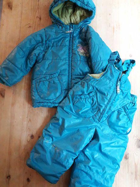 Kombinezon zimowy  Coccodrillo rozm. 86 cm Kurtka i spodnie