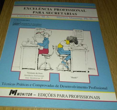 Livro experiência profissional para secretárias