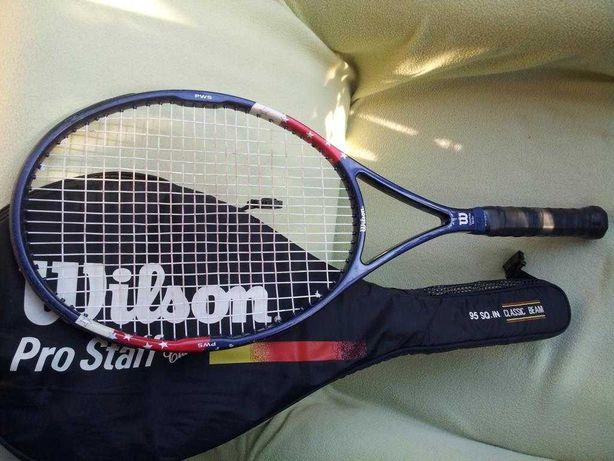 Raquete de Ténis Vintage - Wilson Pro Staff Classic 95