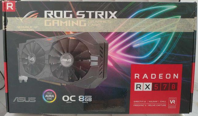 ASUS ROG Strix Radeon RX570 OC 8G Gaming - Ultima unidade