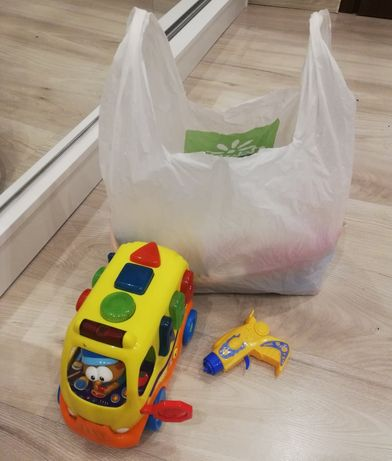 35szt ubranek dla chłopca rozmiar 68-74 i zabawki