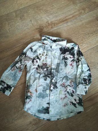 Koszula w kwiaty dla dziewczynki
