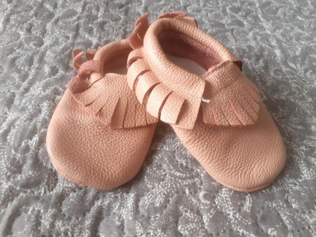 Miękkie buciki niemowlęce