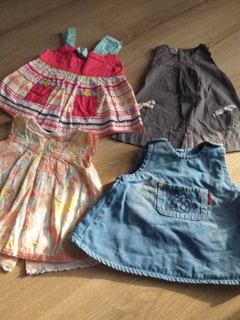 Sukienki 0-3 mce