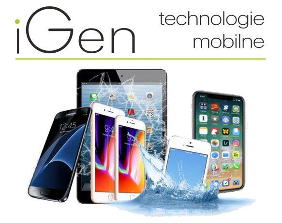 Wymiana szybki APPLE IPHONE X Gwar. iGen Lublin + montaż Gr