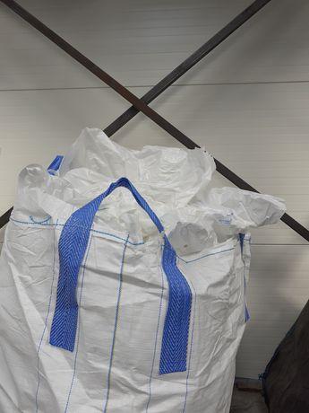 Worki typu BIG BAG importer bigbags 93x93x188 cm z klapą i lejem