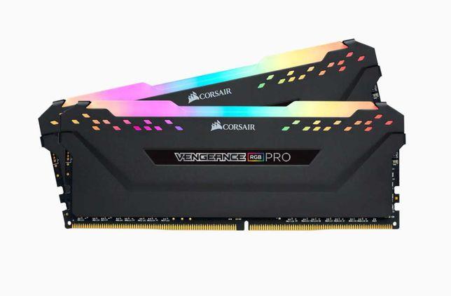 Оперативная память Corsair 16 GB DDR4 3200 MHz Vengeance RGB Pro Black