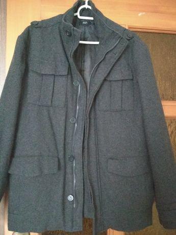 Płaszcz wełniany męski F&F roz S