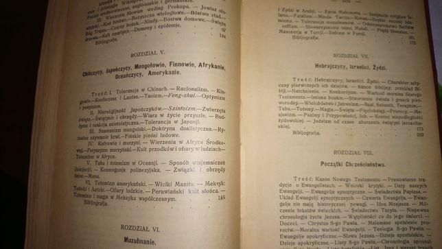 Stara księga Orfeusz czyli Dzieje Powszechne Religji 1914r