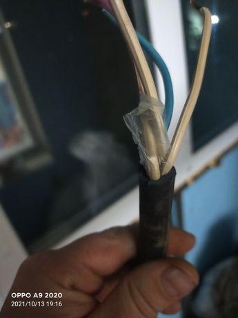 Продам кабель резиновый медный 5 жыльный