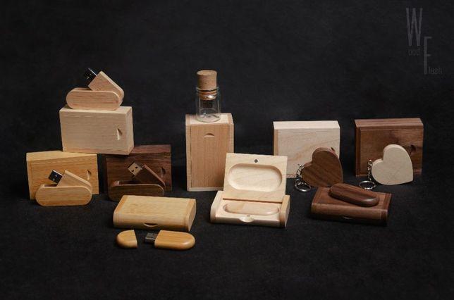 Флешки деревянные (индивидуальная гравировка), флешка для фотографа