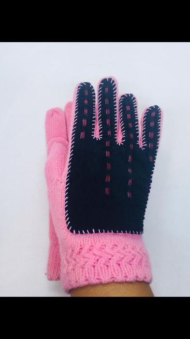 Итальянские роскошные замшевые перчатки брендовые Днепр - изображение 1